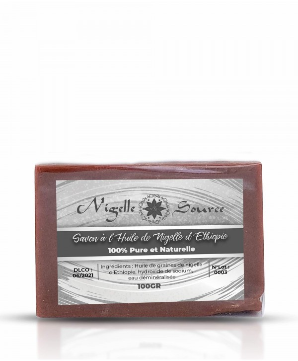 Savon à l'huile de nigelle (Habachia) 100g