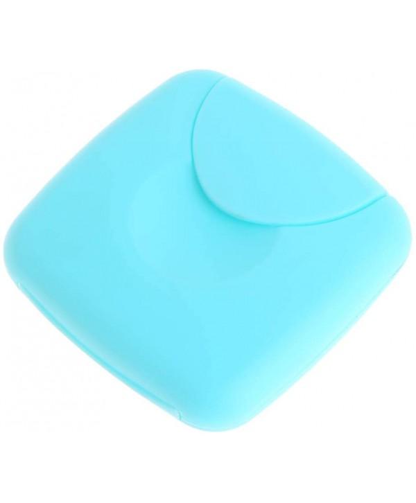 Boîte à tampon bleu
