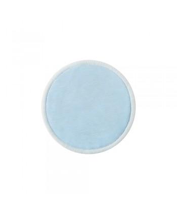 Lingette en coton de bambou réutilisables Bleu (Lot de 3)
