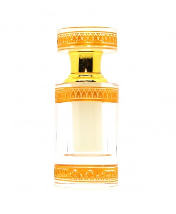 Musc tahara flacon luxe à motif blanc 3ml