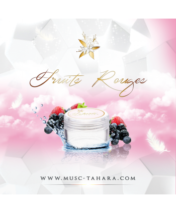 Musc Tahara Aromatisé Fruits Rouges